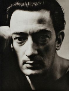 eccentric Catalan draftsman, filmmaker, sculptor, photographer and pioneer of Surrealism, (Salvador Domingo Felipe Jacinto Dalí i Domènech, 1st Marqués de Dalí de Pubol) Salvador Dali. portrait by George Hoyningen-Huene (1930)