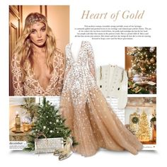"""Heart Of Gold"" by thewondersoffashion ❤ liked on Polyvore featuring Prada, Alix of Bohemia, Jimmy Choo, Jennifer Behr and Christian Louboutin"