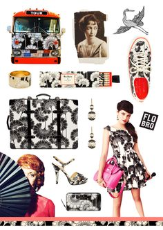 Kate Spade partnered with Signature Prints to reissue Florence Broadhust Japanese Floral pattern.  Such timeless textile.