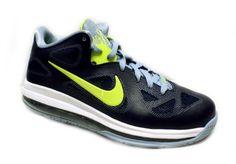 Nike Lebron 9 Low Mens Basketball Shoes Obsidian/Cyber-White-Blue Grey 510811-401 Nike. $129.95