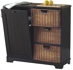 2 narrow storage cabinets w tilt out recycle bin trash can holder home kitchen teen room. Black Bedroom Furniture Sets. Home Design Ideas