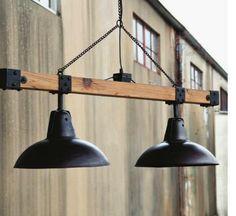 Warehouse Lights Beam Industrial Vintage Style Loft Shop Garage Chandelier pool