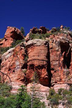 Oak Creek Canyon, Arizona; photo by Louis Dallara
