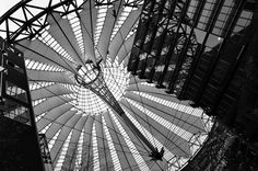 Sony Center in Berlin  #berlin #travel #berlinbejby #germany #sony #sonycenter #modern #architecture #building #roof #blackandwhite #blackandwhitephotography #bnwphotography #street #streetphotography #nikon #nikonphotography #tamron