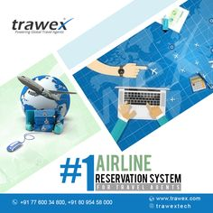 Online flight reservation has constantly been the biggest bookable section in the travel sector. No travel reservation site can be complete without airline reservation system.
