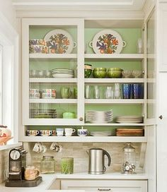 Lovely Bubble Glass Cabinet Doors