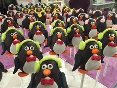 Cake Pops Pinguine #cakepops_wien