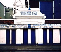 Filbert Street, Leicester City - I miss it! My Mum & Dad met here for the first time.
