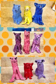 2nd: clay Thumb Pets