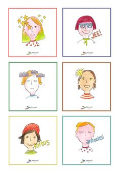 Tunnetaidot - Värinautit Finland, Peanuts Comics, Teaching, Activities, School, Report Cards, Education, Onderwijs, Learning