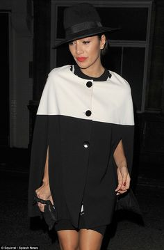 Copy Nicole in a caped coat by Gina Bacconi, £220