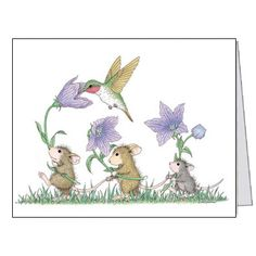 """""""8 Blank Cards/8 Envs"""", Stock #: N2009-5B, from House-Mouse Designs®. This item was recently purchased off from our web site, www.house-mouse.com. Click on the image to see more information."""