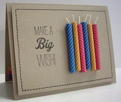 Birthday Candles by Loll Thompson - Cards and Paper Crafts at Splitcoaststampers