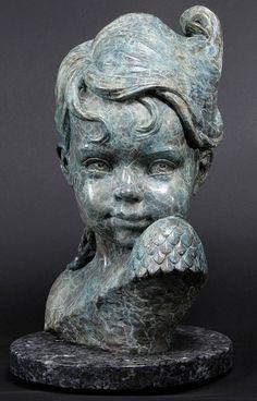 Philippe Faraut | Child of Atlantis - 2002 (Bronze)