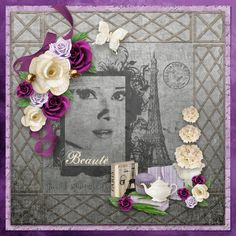 Beauté created with Breakfast At Tiffanys by Booland Designs https://www.digitalscrapbookingstudio.com/collections/b/breakfast-at-tiffanys-by-booland-designs/ Graphic courtesy of Pixabay