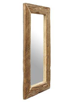 Spiegel mit Massivholzrahmen aus Fichte Altholz 180x80 21262. Buy now at https://www.moebel-wohnbar.de/spiegel-mit-massivholzrahmen-aus-fichte-altholz-180x80-21262.html