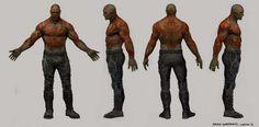 Alternate Gamora, Rocket, Drax & Groot Designs - GUARDIANS OF THE GALAXY