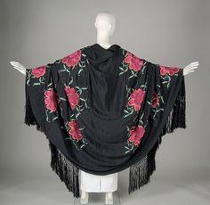 Silk shawl  1930–1939 possibly Portuguese