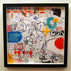 Arte em papel ph neutro. Técnica mista. Medidas: 30x30 Artista: Loro Verz www.loroverz.com #art #loroverz