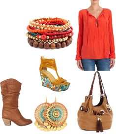 """""""cowgirl chic"""" by salmonrose on Polyvore"""