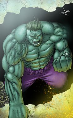 #Hulk #Fan #Art. (Hulk) By: Souljoer00. ÅWESOMENESS!!!