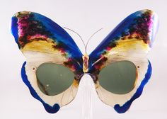 Oliver Goldsmith 'Butterfly', handpainted 1960s. Only 3 exist in the world.