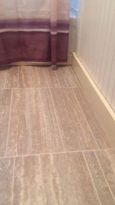 New washroom flooring