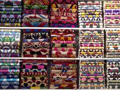 Ikat layers, Grand Bazaar, Istanbul.