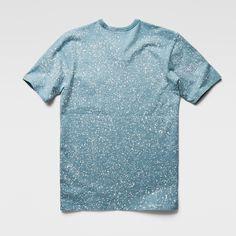 G-Star RAW | Men | T-shirts | Marc Newson Spot T-shirt , Water