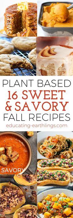 Sweet & Savory Vegan Fall Recipes
