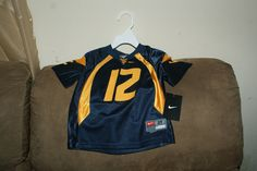 Many kids WVU jerseys!! From 2T-4T for $25 OBO
