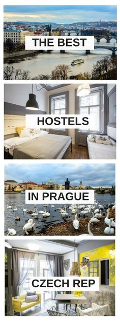 The Ultimate List of the best hostels in Prague, Czech Republic. In this guide, you will find comfortable and cheap hostels, a helpful list for your next trip to Prague. Places In Europe, Best Places To Travel, Places To Go, Beautiful Hotels, Most Beautiful Cities, Prague Travel, Backpacking Europe, Cheap Hotels, Cheap Travel