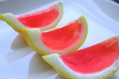 Yum! Pink lemonade jello shots! - Click image to find more Food & Drink Pinterest pins