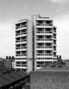 Keeling House   1960   London, England   Denys Lasdun   Photo by Simon Phipps
