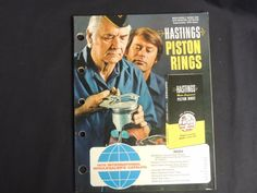 1978 Hastings International Wholesaler Catalog Piston Rings Foreign Domestic #Hastings