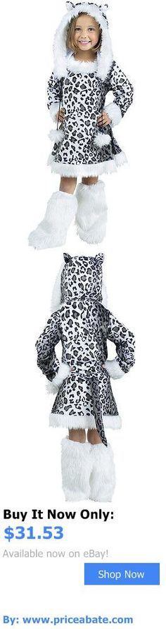 Kids Costumes: Snow Leopard Toddler Costume BUY IT NOW ONLY: $31.53 #priceabateKidsCostumes OR #priceabate