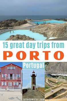 These great day trips from Porto include fishing villages, beaches, mountains, pretty towns, wine regions and local crafts Europe Travel Tips, Travel Guides, Places To Travel, Travel Destinations, Travel Advice, Visit Portugal, Spain And Portugal, Portugal Travel, European Destination