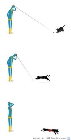 -And this is why X-Men's Cyclops doesn't own a cat. #cats-  This is so terrible and too damn funny on all freaking levels.