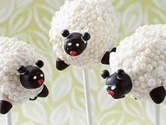 Cake Pops basic recipe how the cakes on a stick succeed DELICIOUS High Fiber Cereal, Recipe Organization, Eating Plans, Chocolate Cake, Sheep, Snack Recipes, Creative, Desserts, Cakepops