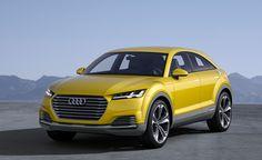 Audi TT Offroad Concept Car is as Strange as it Sounds. For more, click http://www.autoguide.com/auto-news/2014/04/audi-tt-offroad-concept-car-previews-future-tt-lineup.html