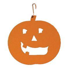Pumpkin Silhouette-Orange at Timeless Wrought Iron