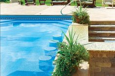 1000 Images About Vinyl Liner Pools On Pinterest