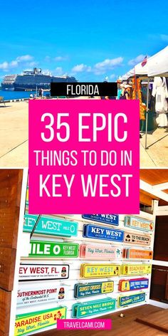 Things to do in Key West Florida in one day | Free Things to do in Key West with kids | Key Lime Pie | Southernmost Point | Dry Tortugas | Duval Street | Photography | Florida Keys | Key West Travel Guide via @travelcami Usa Travel Guide, Travel Usa, Canada Travel, Travel Advice, Travel Ideas, Travel Tips, Key West Florida, Florida Keys, Free Things