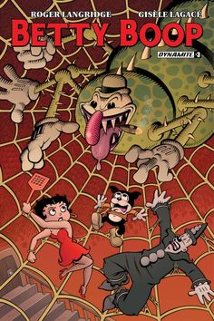 Writer's Commentary – Roger Langridge Breaksdown Betty Boop #3
