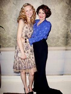 Anna Chancellor and Anna Louise Plowman