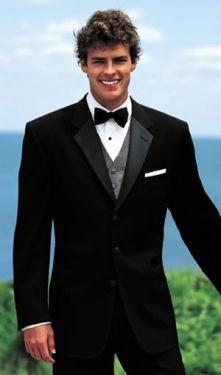 60a07852b49 13 Best Black Tuxedos images in 2016 | Buy tuxedo, Black tux, Black ...