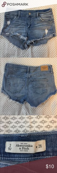 Abercrombie & Fitch jean shorts Jean shorts great condition Abercrombie & Fitch Shorts Jean Shorts