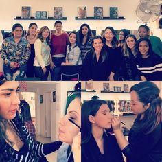 Grupo de maquillaje social jueves tardes! Segunda práctica  #solecester #moda #maquillaje #makeupartist #instagood