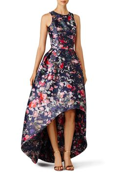 Rent Floral Jadore Gown by ML Monique Lhuillier for $105 only at Rent the Runway.