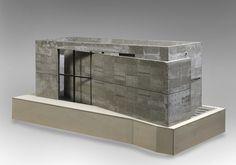 Tadao Ando (1941 - ), Church of the Light, Osaka, architectural model, modelo, maquette